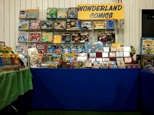 Look at all those kid-centric games, science & activity kits, and workbooks!