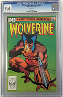 Wolverine #4 (Limited Series)