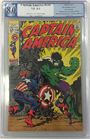 Captain America #110