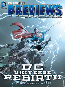 DC Comics Previews 2016