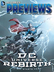 DC Comics Previews 2016